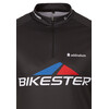 Bikester Basic Team Koszulka kolarska, krótki rękaw Mężczyźni czarny